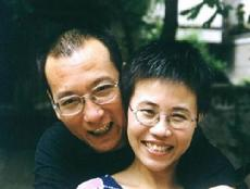 Liu Xiaobo and his wife